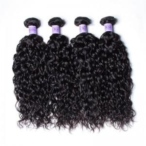UNice Hair Kysiss Series Malaysian Water Wave Product Cheap Human Hair 4Pcs/pack