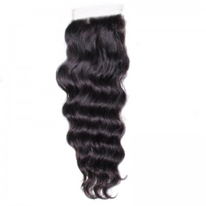 UNice Hair Kysiss Series Indian Natural Wave Human Hair 4 Bundles For Sale With Closure