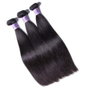 UNice Hair Kysiss Series Brazilian Hair 3pcs 8A Grade Straight Human Hair Extension