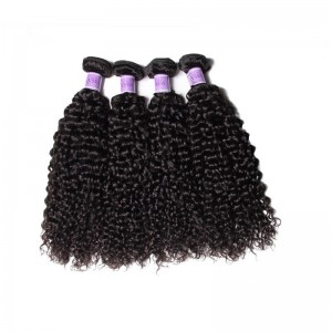 UNice-Kysiss Hair 4 Bundles Unprocessed Virgin Hair Wholesale Jerry Curly Hair