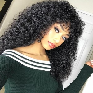 UNice-Kysiss 4Pcs/pack Peruvian Human Virgin Jerry Curly Hair