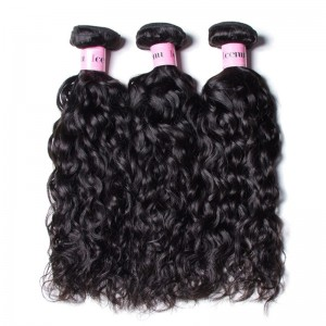 UNice 3 Bundles Water Wave Virgin Human Hair