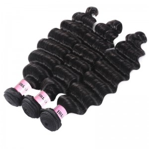 UNice Hair Icenu Series Loose deep Wave Cheap Human Hair 3 Bundles
