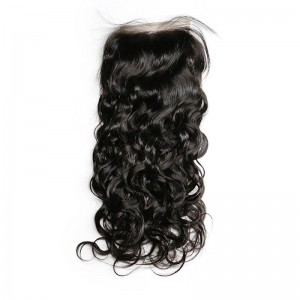 UNice Hair Icenu Series 4 Bundles Virgin Hair Natural Wave With Lace Closure Human