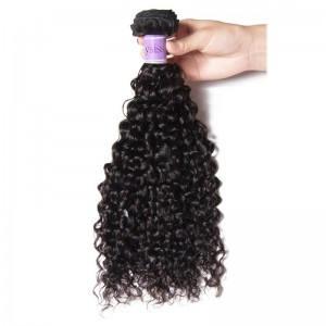 UNice Hair Kysiss Series Malaysian Jerry Curly Virgin Hair Weaves 4pcs/pack