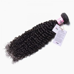 UNice Hair Icenu Series 1 Piece Jerry Curly Human Virgin Hair Weaving