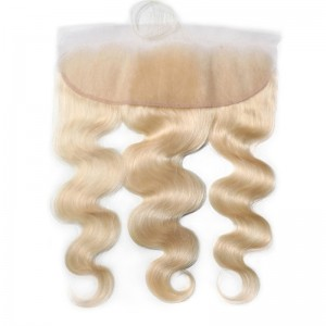UNice Hair 613 Blonde Body Wave Hair 4x13 Lace Frontal