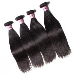 UNice Hair Icenu Series 4pcs/pack Indian Straight Human Hair Weaves