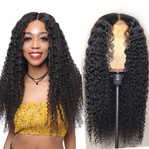UNice Hair Bettyou Wig Series Natural Black African American Curly Wig Full Lace Wigs