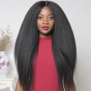 UNice Hair Bettyou Series Popular 360 Lace Wig Straight Kinky Hair Wig Long African American Wig