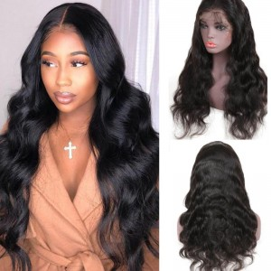 UNice Hair Bettyou Wig Series Virgin Human Hair Wavy 360 Lace Frontal Wig