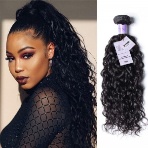 UNice Hair Kysiss Series 3 Bundles Brazilian Water Wave Virgin Human Hair With Lace Closure