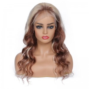 UNice Hair Bettyou Wig Series Long Wavy Wig Mixed Color For Fashion Lady