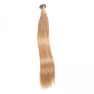 UNice 100S Keratin Stick I-tip UNice Straight Virgin Human Hair Extensions 1 g/s