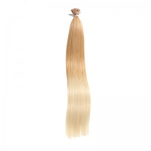 UNice 100 g Omber Keratin Stick I-tip Straight Virgin Human Hair Extensions