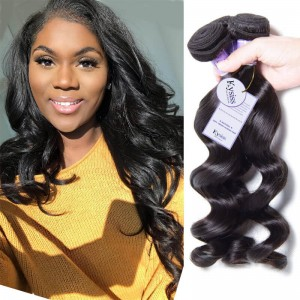 UNice-Kysiss 3pcs/pack Brazilian Loose Wave Virgin Human Hair