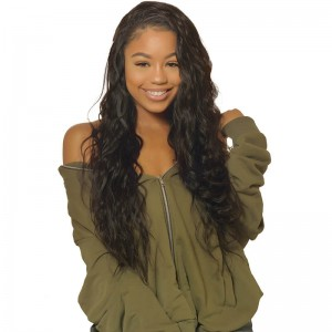 UNice Hair Icenu Series 3 Bundles Natural Wave Virgin Hair With Lace Closure