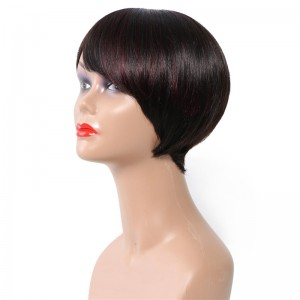 UNice Hair Bettyou Wig Series Mixed Color Short Straight Human Hair Capless Wigs