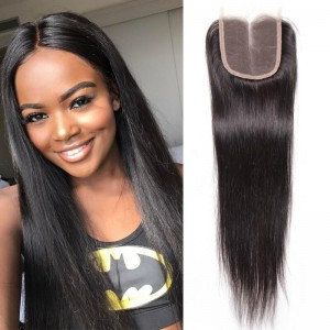 UNice Hair Icenu Series 3 Bundles Brazilian Virgin Hair Straight With Closure
