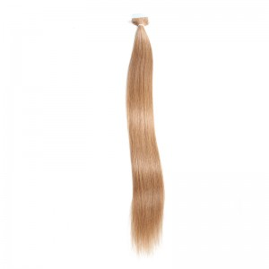 UNice 20pcs 50g Straight Tape In Hair Extensions #12 Light Brown