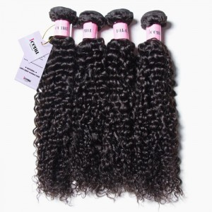 UNice Hair Icenu Series Brazilian Jerry Curly Virgin Hair 4pcs/pack