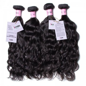 UNice Hair Icenu Series New Arrival 7A Grade Malaysian Natural Wave Human Hair