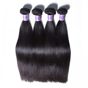 UNice Hair Kysiss Series 4 Bundles Unprocessed Straight Peruvian Virgin Human Hair