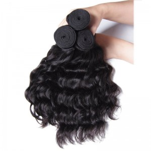 UNice Hair Kysiss Series Natural Wave Weft Malaysian Product 3 Bundles