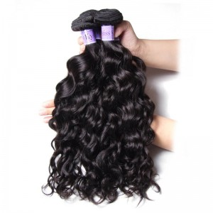 UNice-Kysiss Natural Wave Weft Malaysian Product 3 Bundles