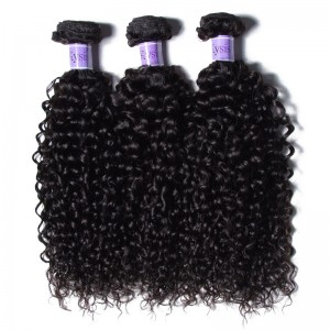 UNice Hair Kysiss Series Peruvian Jerry Curly Hair Cheap Human Hair 3 Bundles
