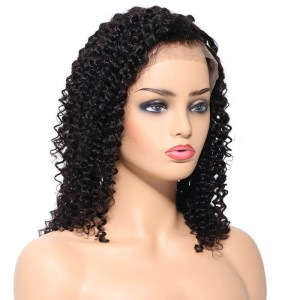 UNice Hair Bettyou Series Brazilian Deep Wave Lace Front Wig 100% Human Hair