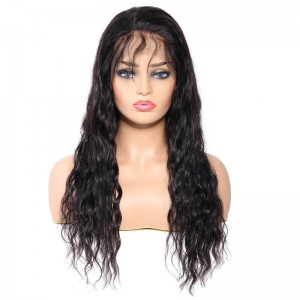 UNice-Bettyou Peruvian Long Water Wave Human Hair Lace Front Wig