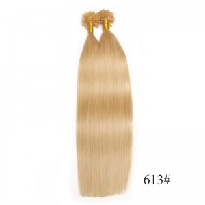 UNice 100s 0.5g/s Straight Nail/U Tip Virgin Hair Extensions