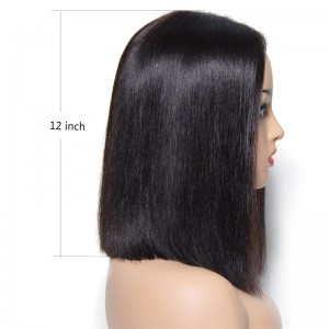 UNice Hair Bettyou Wig Series Medium Center Part Straight Bob Huamn Hair Wig