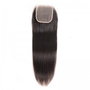 UNice Hair Icenu Series Straight Transparent Lace Closure 4*4 Free Part Virgin Human Hair Lace Closure