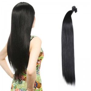UNice 1g/s Straight Nail/U Tip Virgin Hair Extensions