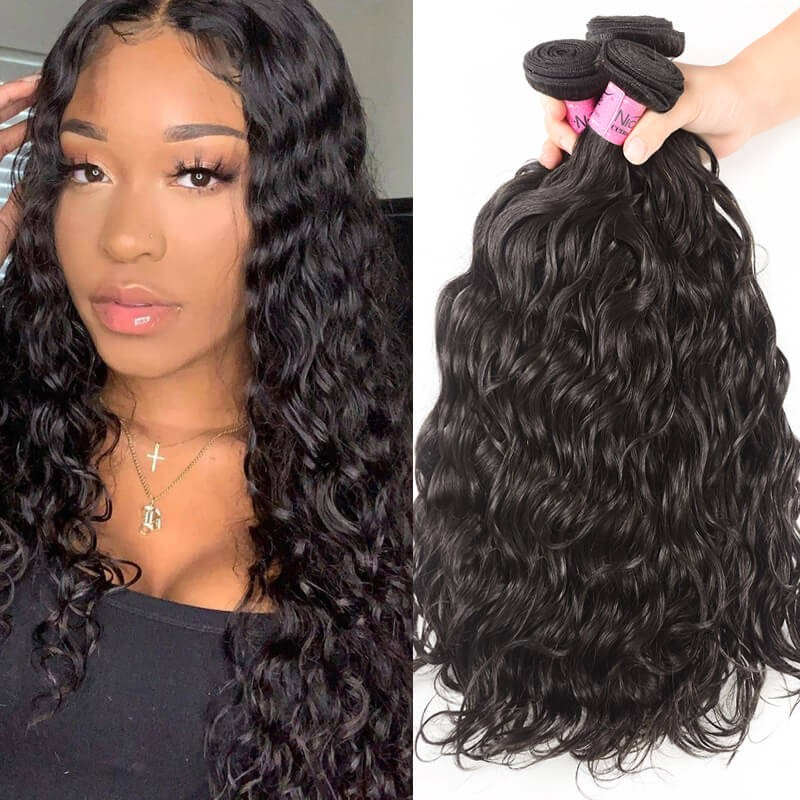 UNice-Icenu 7A Indian Virgin Hair Natural wave