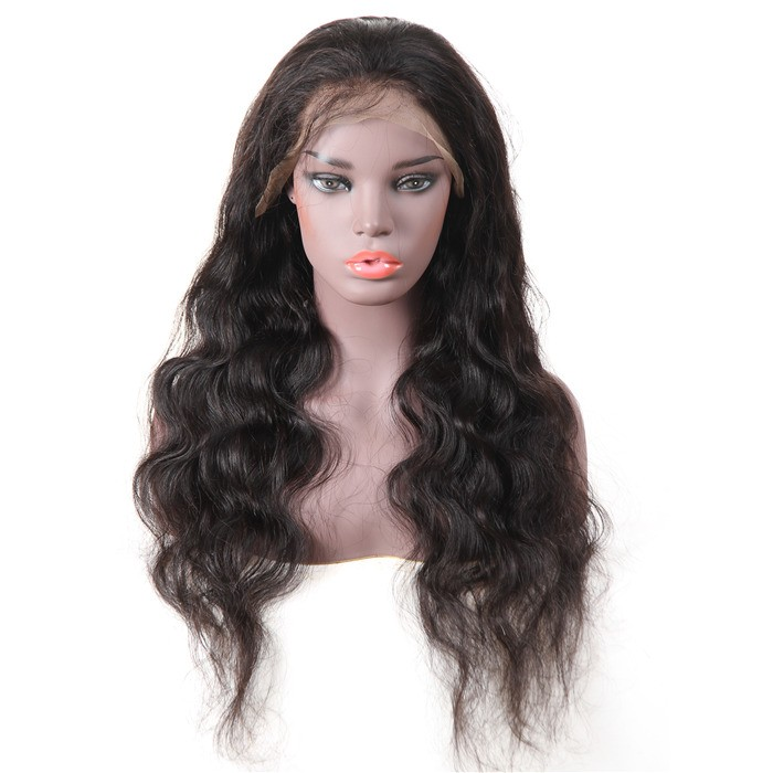 UNice-Bettyou Long Body Wave Human Hair Lace Front Wig
