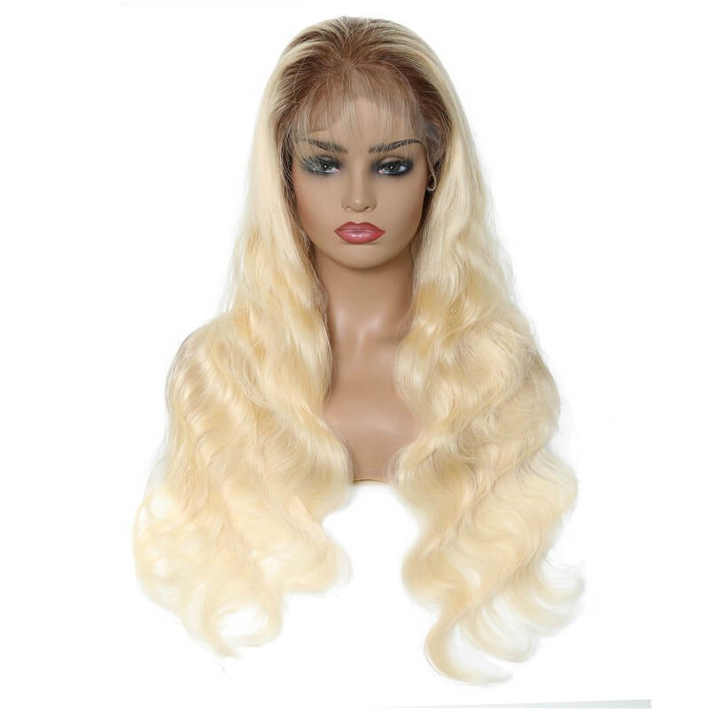 UNice Hair T4 613 Lace Wig Lace Front Human Hair Wigs