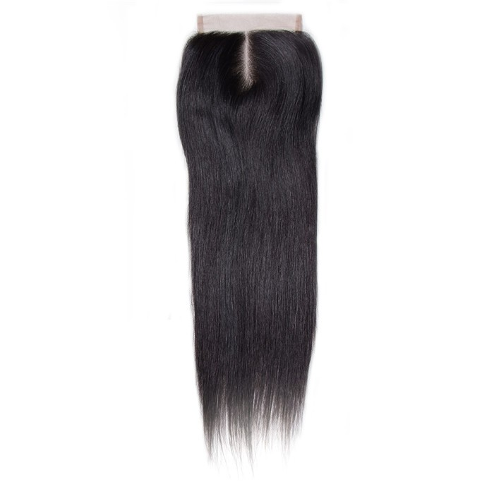UNice Straight Human Virgin Hair Lace Closure