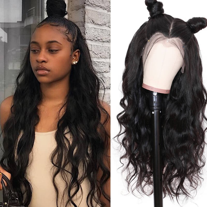 UNice Hair Bettyou Wig Series Virgin Human Hair Wavy 360 Lace Frontal Wig