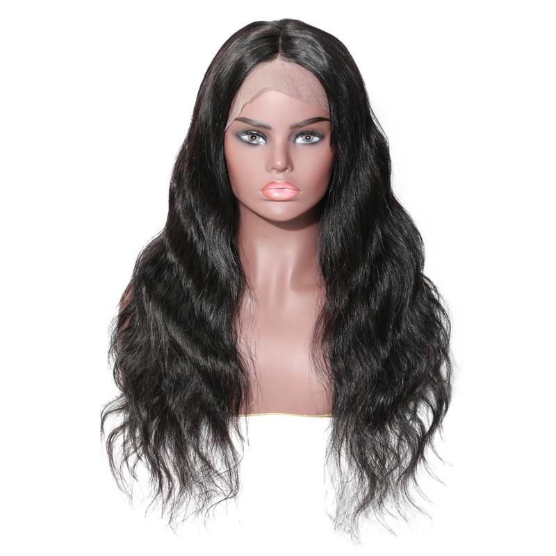 UNice-Bettyou Peruvian Long Water Wave Human Hair Lace Front Wig