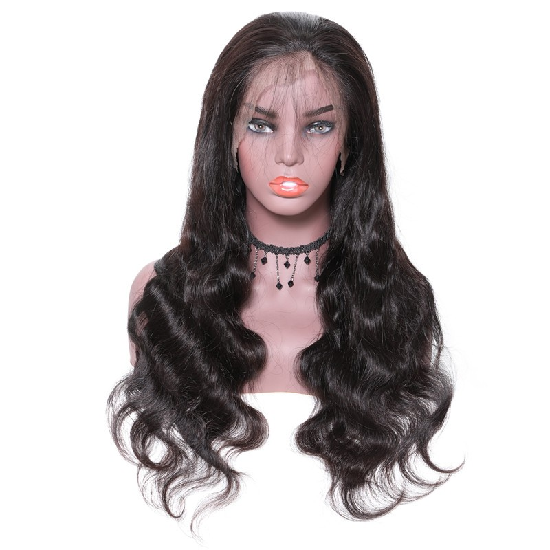UNice Hair Bettyou Series 7A Virgin Hair Long Body Wave Human Hair Lace Front Wig For Women Online For Sale