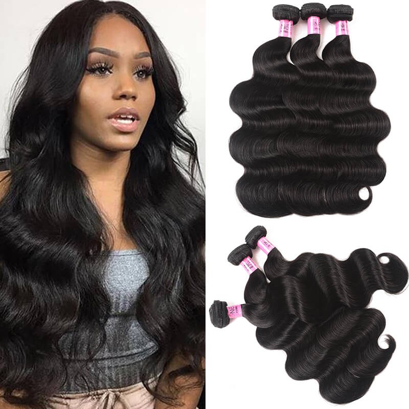 UNice Hair Icenu Series 3pcs/pack Peruvian Virgin Hair Body Wave