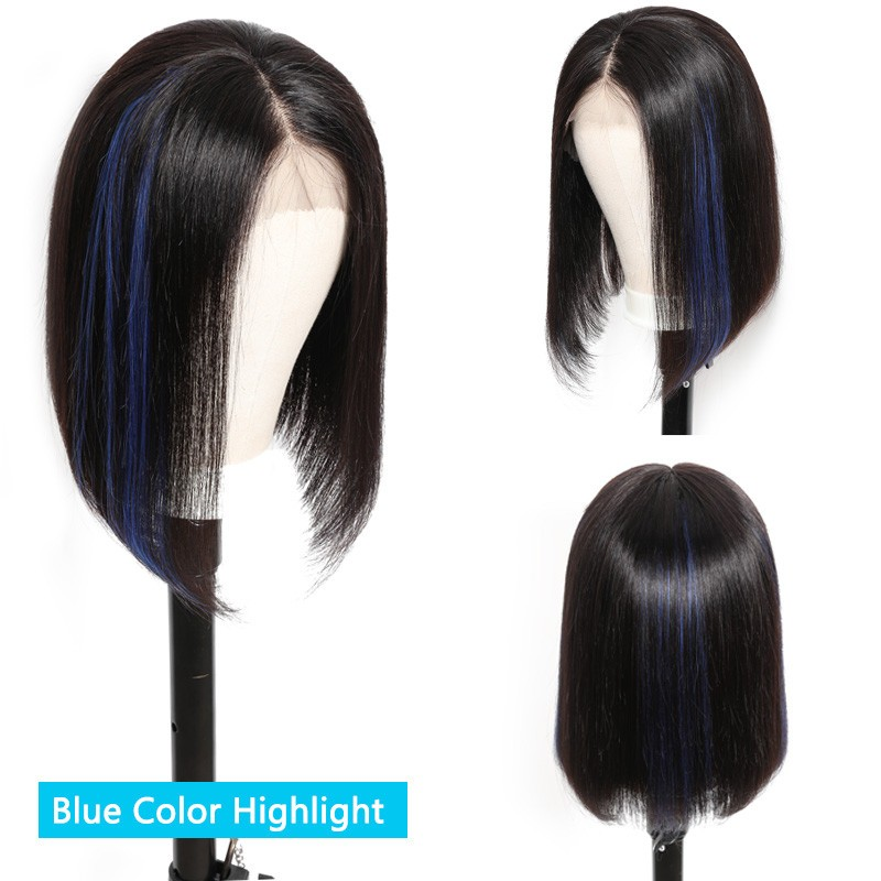 UNice Hair Bettyou Wig Series Mixed Color Long Big Curly Human Hair Wig