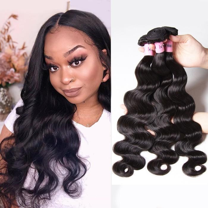 UNice Hair Icenu Series Hair Products Brazilian Body Wave Virgin Hair 4 Bundles