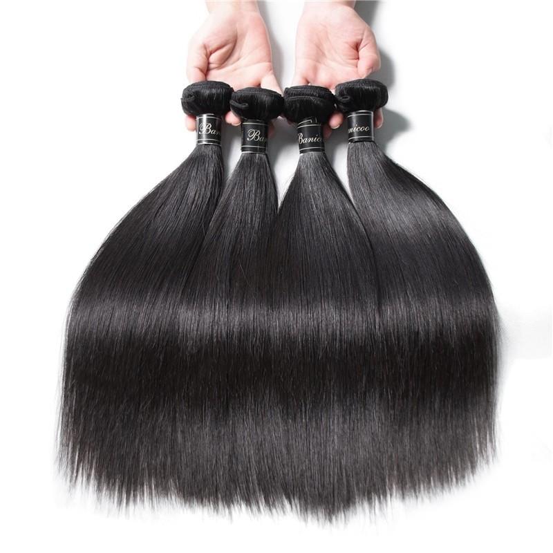 Virgin Indian Remy Hair Weave Bundles100 True Indian Human Hair