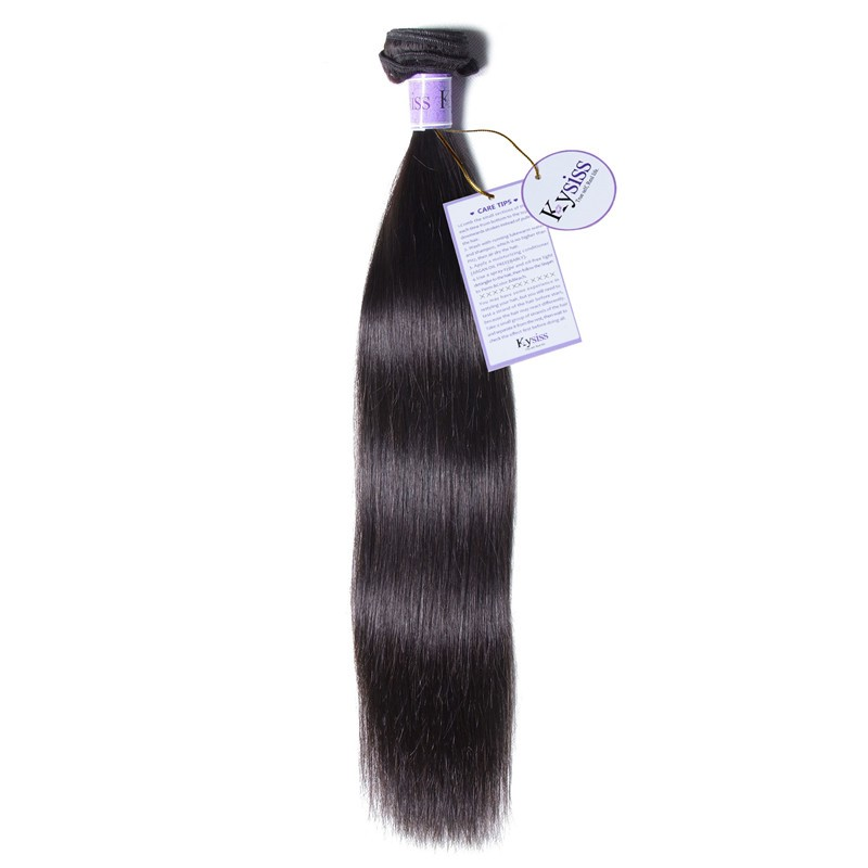 UNice-Kysiss 1 Piece Straight Human Remy Hair
