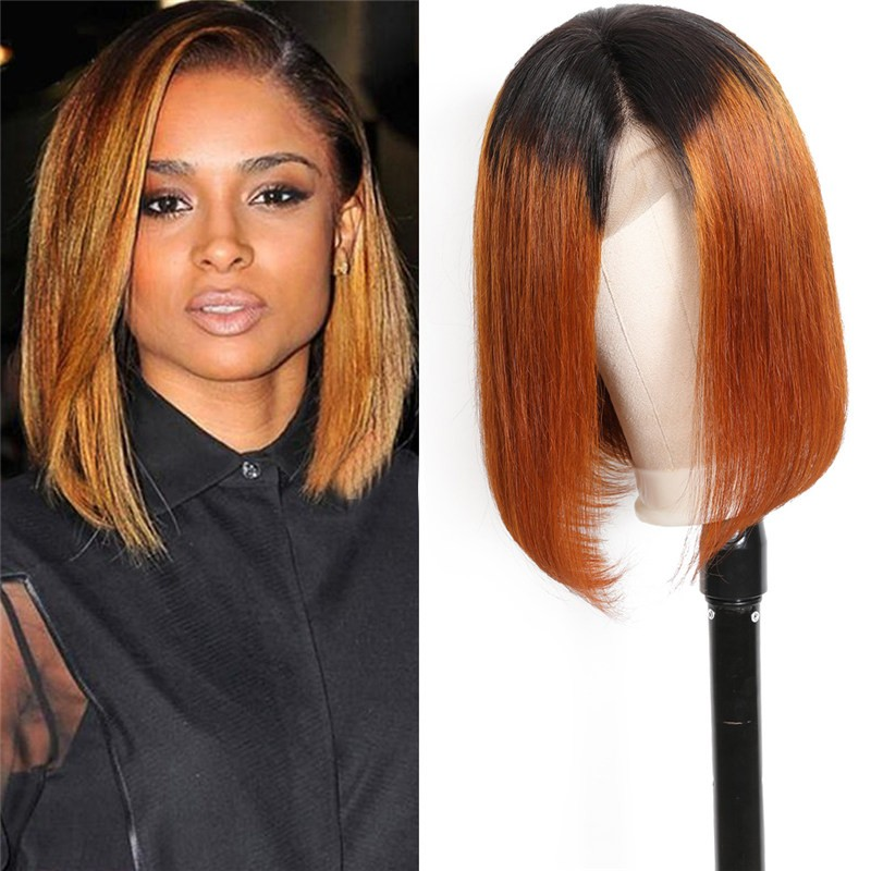 UNice New Arrival 8-14 Inch Lace Front Ombre Wigs