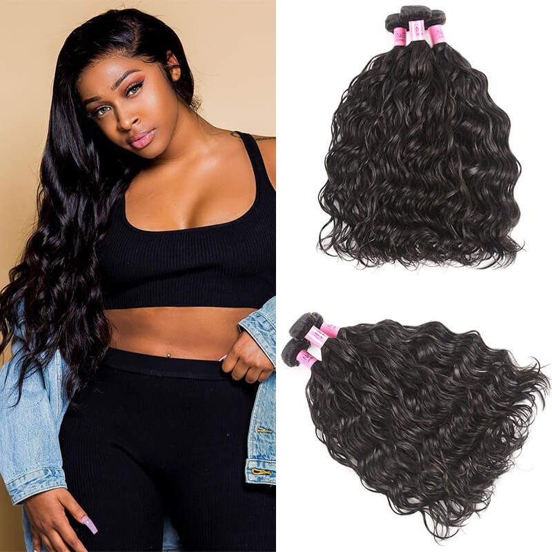 UNice-Icenu 7A Indian Virgin Hair Natural wave
